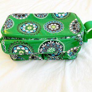 Vera Bradley Mini Lunch Cooler in Cupcake Green